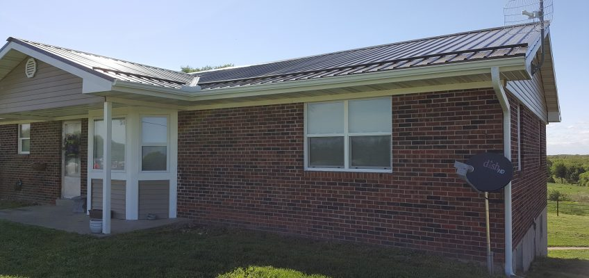Seamless Gutter and Ice-guard